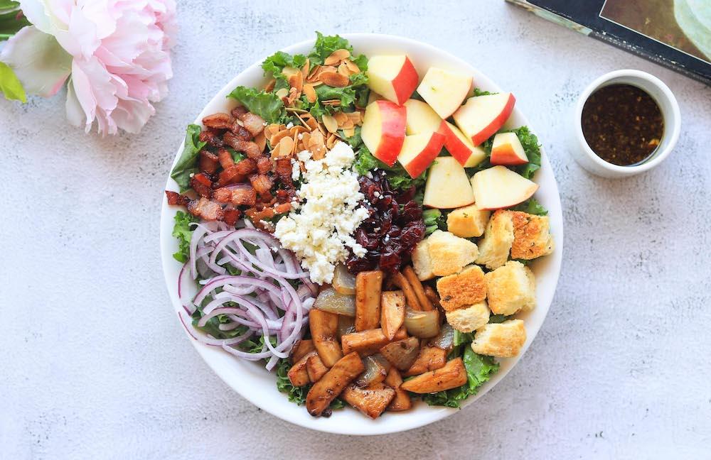 Salad - Almond Mushroom