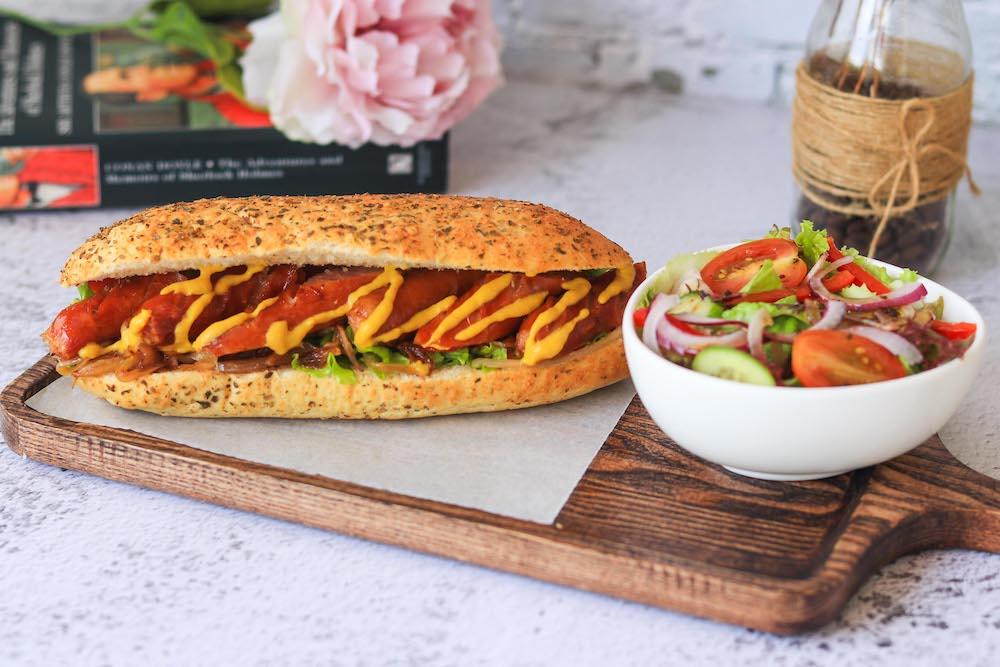 Sandwich - Sausage & Caramelized Onion